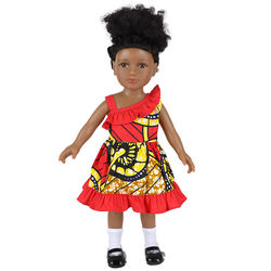 New African Style American girl doll clothes custom design,doll clothes for doll 18 inch