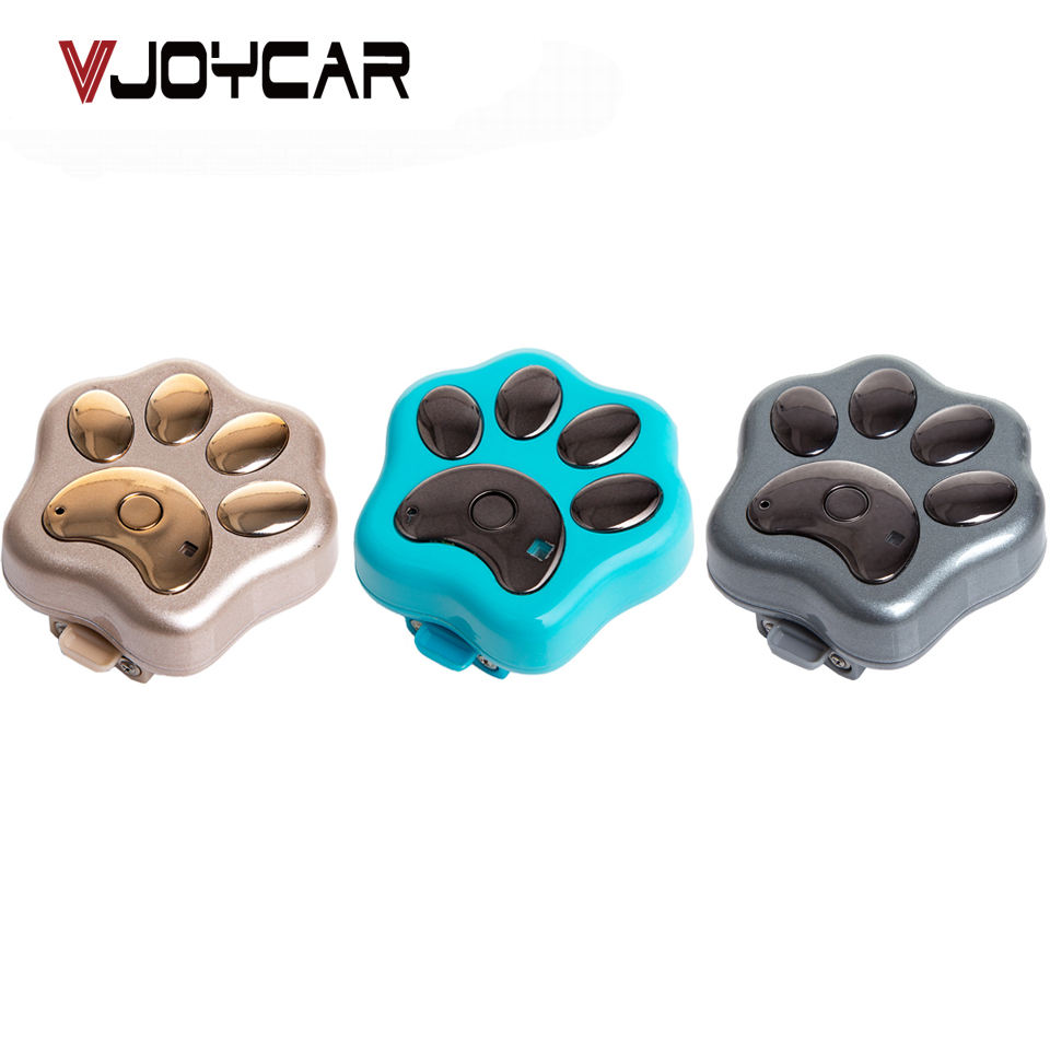 VJOYCAR V30 GPS Tracker Chip for Dogs WiFi GSM GPRS Real Time Tracking SMS Locator Waterproof LED Pet Tracker GPS