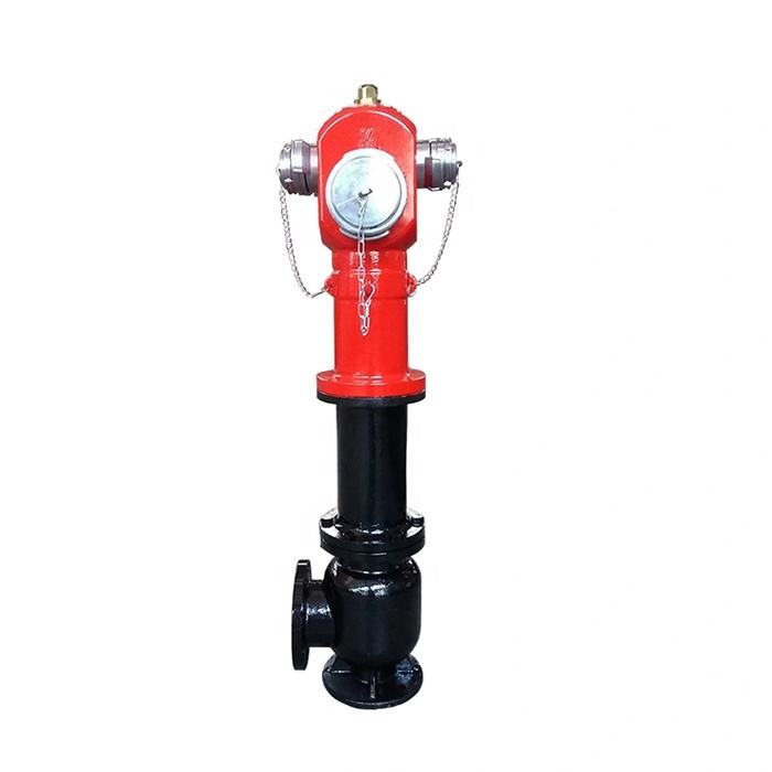 3 Ways BS Standard Outdoor Fire Hydrant of Dry Barrel Type