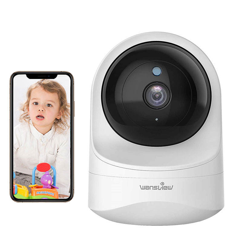 Baby Monitor Night Vision Video Camera Wireless Audio1080p HD Wifi Babyfoon Met Camera Support Cloud,memory Card 15 Frames / Sec