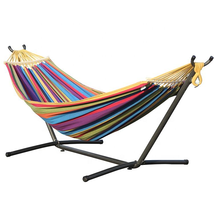 high quality outdoor hammock with stand