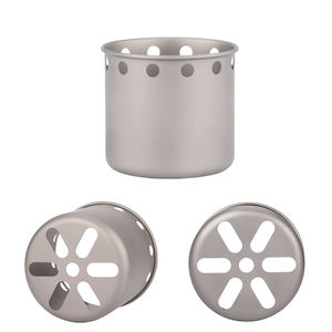 Titanium Hout Gas Outdoor Camping Kachel, Backpacken Houtkachel met Cross Bars