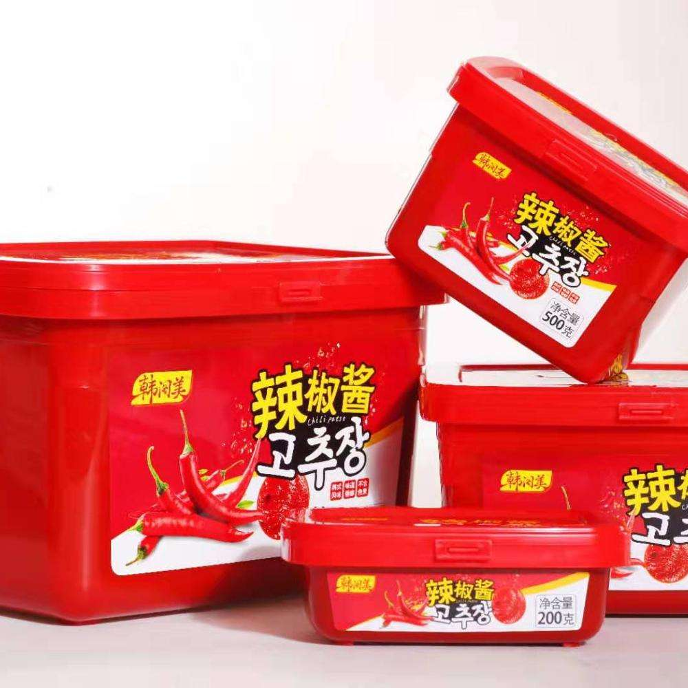 korean red chilli/pepper paste product light sweet spicy dip sauce