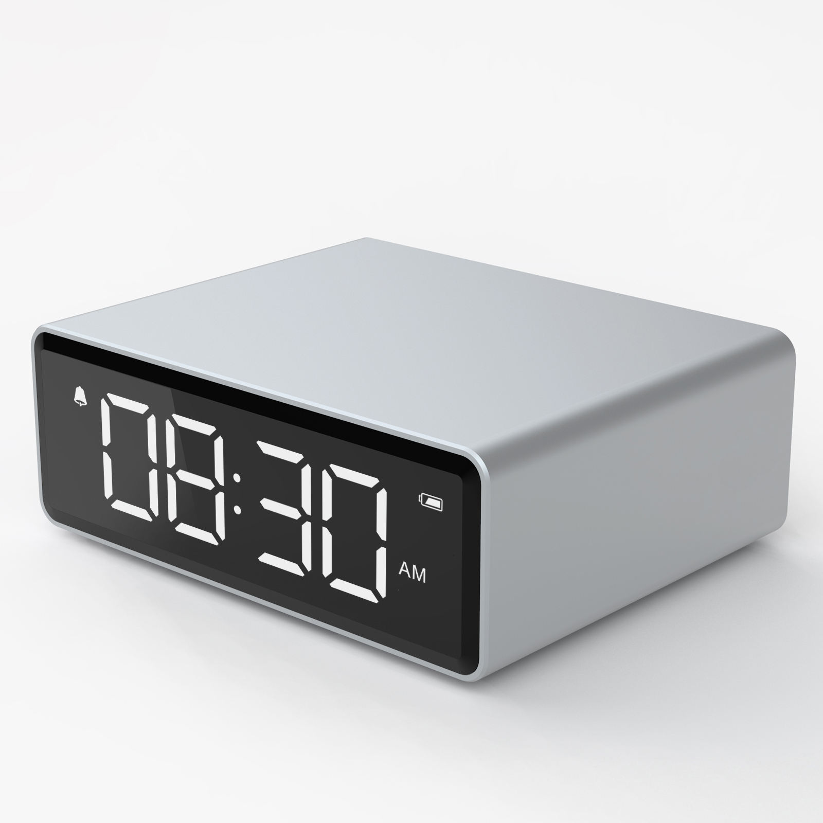 LED multi-function digital snooze display time table alarm clock