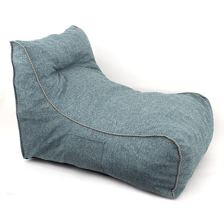 Customized Fabric cover Bean Bags lazy sofa for bedroom rest chair sets indoor living room home furniture comfortable