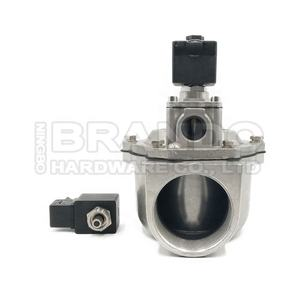 2 Way Internal Thread Angle Valve Port Size G2 1/2 Inch SCG353A051 Solenoid Pulse Valve With Double Diaphrgam
