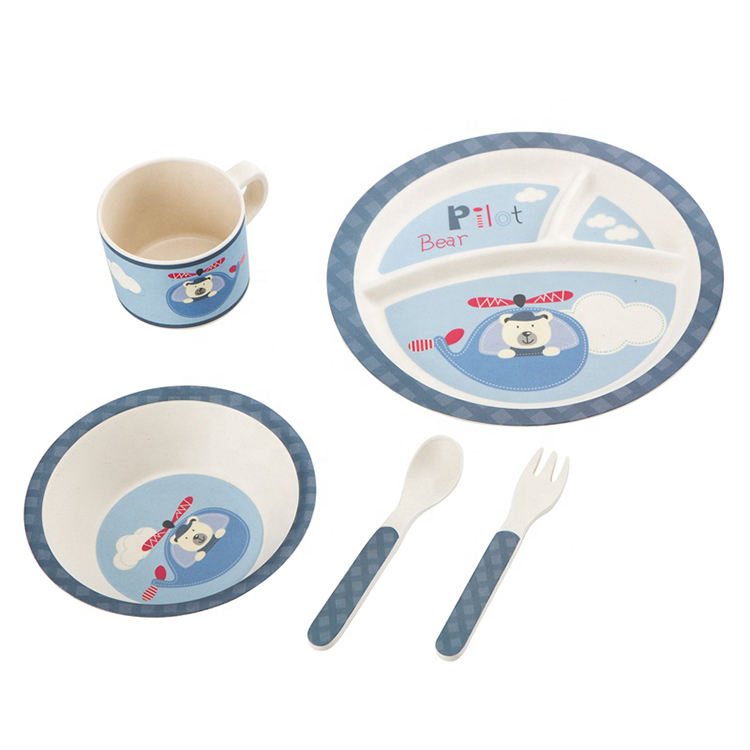 Compostable Baby Tableware With Great Price biodegradable tableware