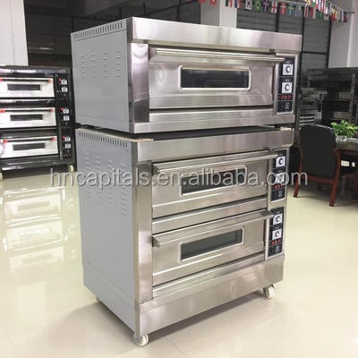 Automatic bread baking machine pizza oven convection oven for baking bread