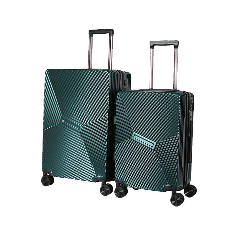 Custom Trolley Luggage Suitcase Travel Carry ABS+PC Suit Case Set With Removable Wheels