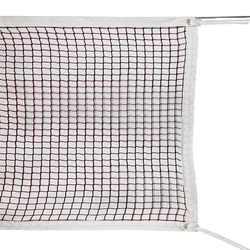 Polypropylene badminton net