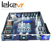 LEKE VR Zone Virtual Reality Fun Land VR Game Center with Exclusive VR Content
