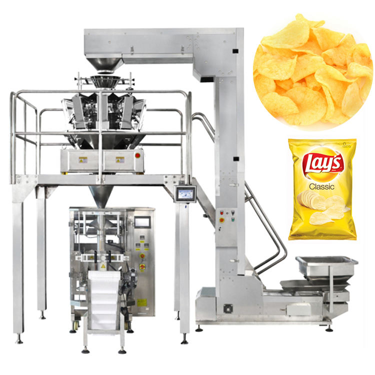 automatic potato chips pouch packing machine for sale