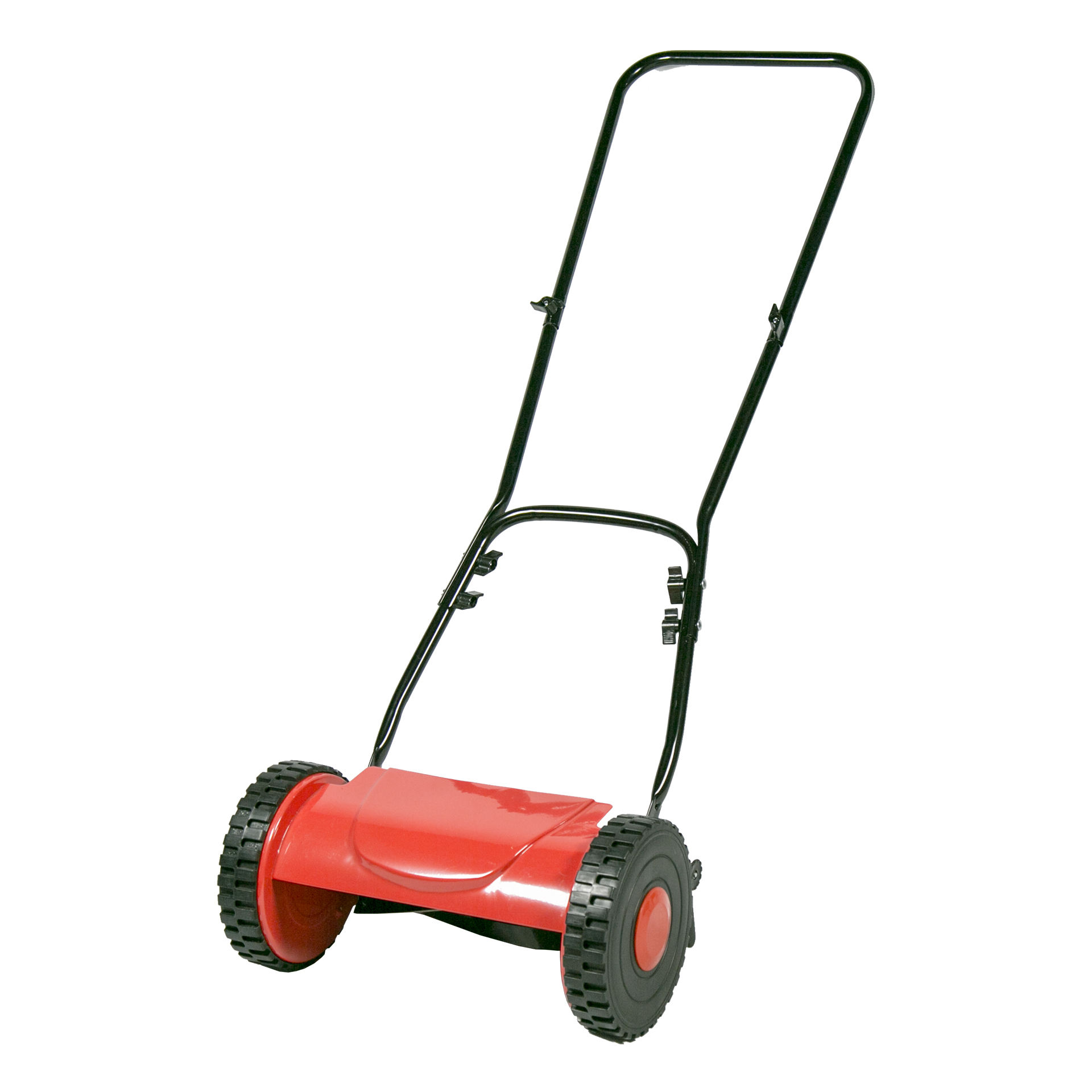 Fine cutting hand push finish mower