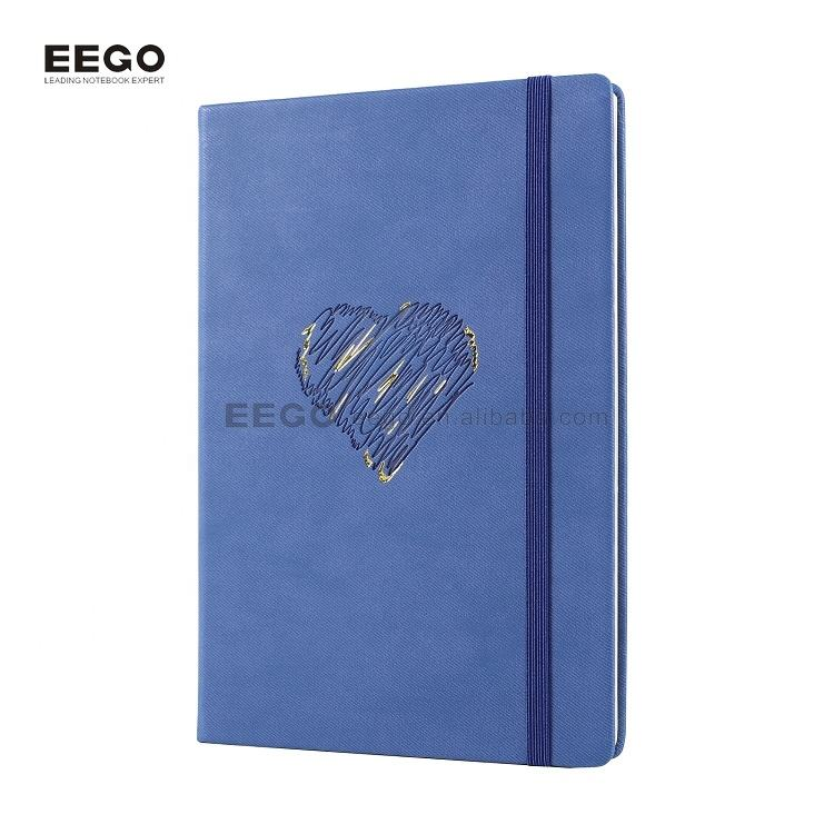 custom Embossed Logo Personalized genuine leather cheap journals notebooks wholesale