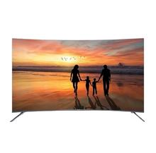 weier Curved Screen 55 inch Smart Android LED LCD TV 2020 New Design television