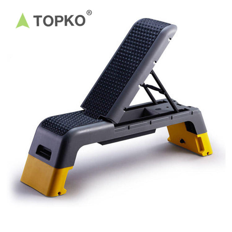 TOPKO wholesale home training fitness weight bench gym exercise adjustable gym bench