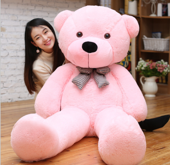 HI CE wholesale 120CM plush teddy bear toys custom stuffed & unstuffed teddy bear giant teddy bear for sale