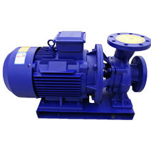 Monoblock horizontal electric high pressure water pump