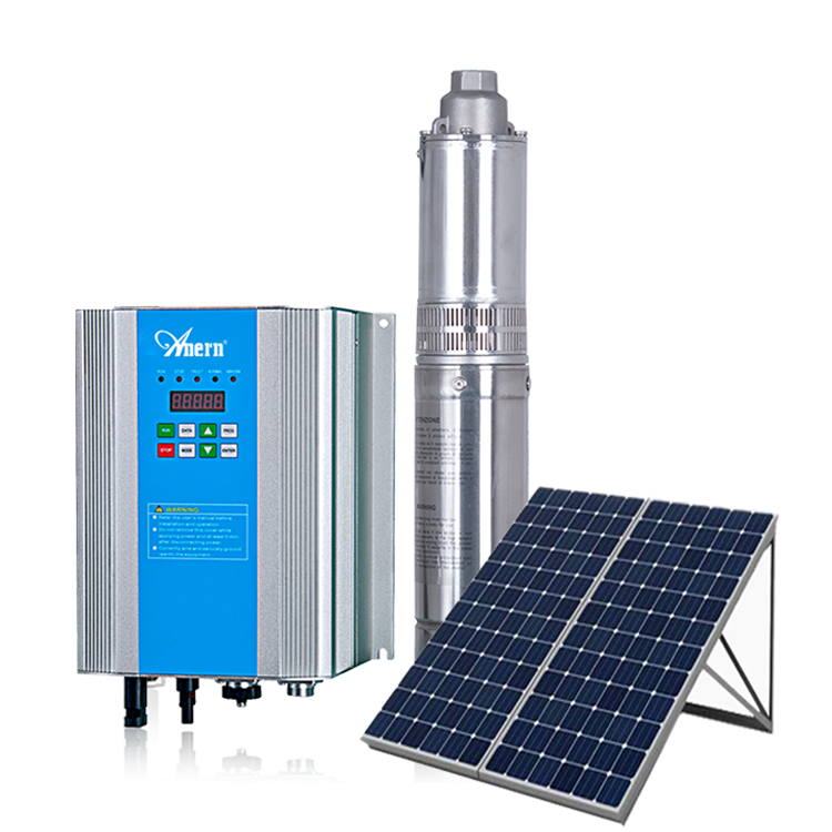 Solar Water Pumping System 10HP 20Hp 30Hp Submersible Water pump
