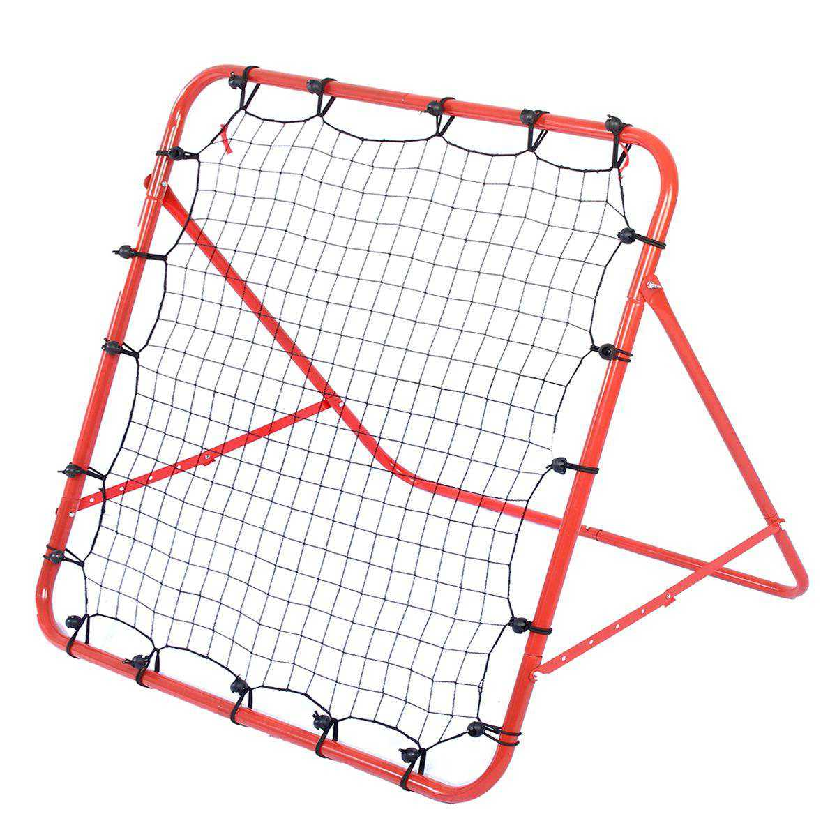 Soccer Football Rebound Target Net Adjustable Kickback Training Goal Training Aid Tool