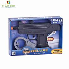 hot selling police toys  with light & sound shooter toy flare gun   plastic toys for kids battery operated laser toys gun