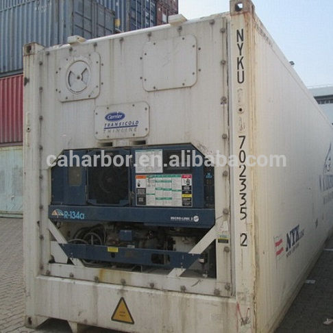 40-foot high cabinet Used Reefer Container Sale for frozen fish customer