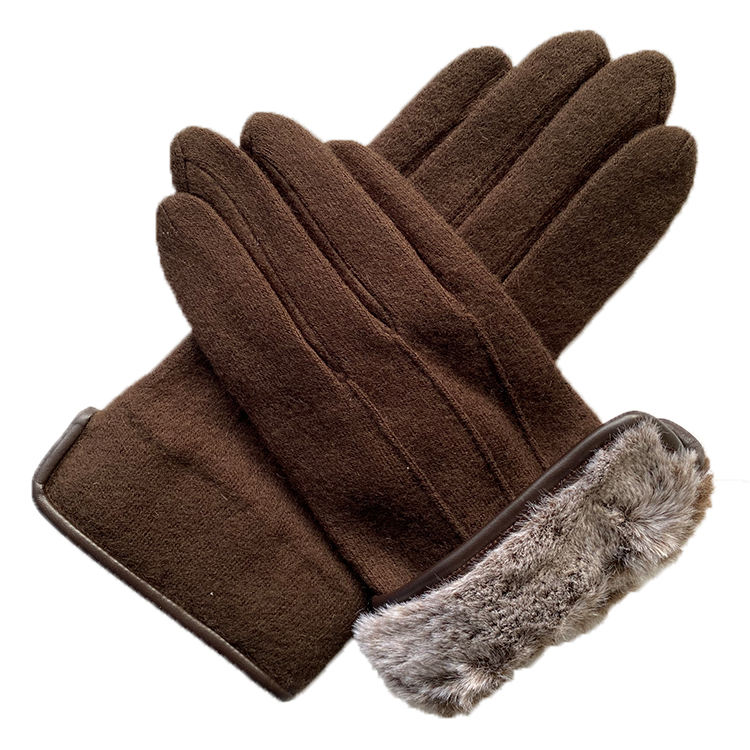 New fashion knit winter long gloves for women
