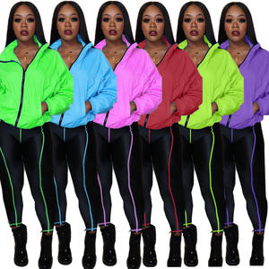 2020 Sweatsuit tracksuit jogger women 2 two piece outfits set fall clothing for women