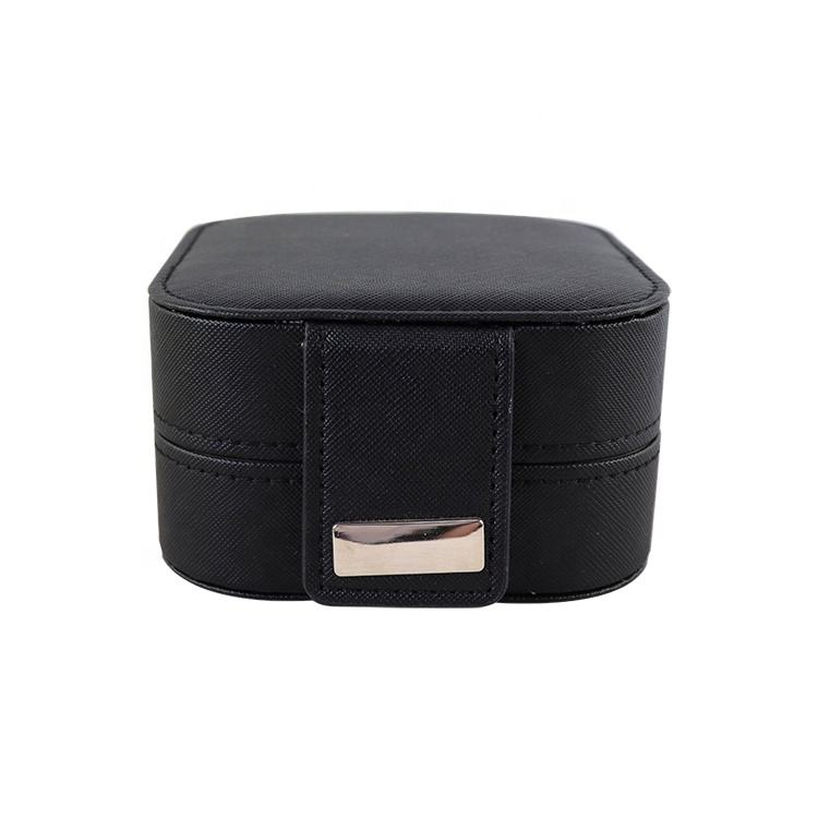 ISO 9001 certificated portable jewelry case travel jewelry organizer case and jewelry cosmetic makeup train case supplier