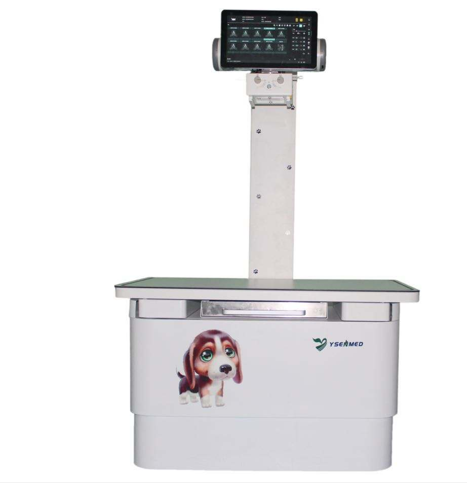 2020 Yueshen YSX200-YSXVF Veterinary Hospital Pet Clinic Mobile Vet X-ray Machine