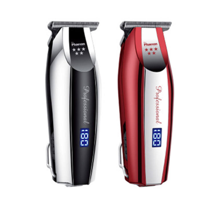 Factory direct stainless steel mini rechargeable electric beard clipper hair trimmer