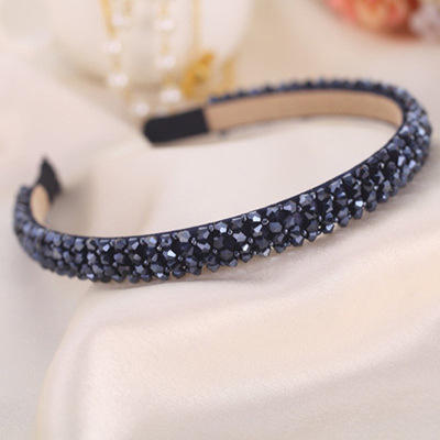 Newest Design Lady Glitter Hairband Shiny Sequins Party Hairbands
