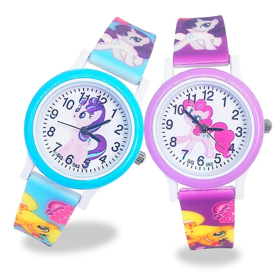 New unicorn analog children watch children cartoon character wrist watches kids Jelly boy girl student children 's watch