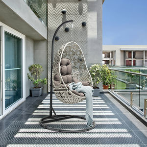 Uland New Arrival Outdoor Patio Egg Swing Chair Original Design Patio Swings Hanging Chair