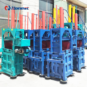 Vertical Hydraulic Tire Bale Equipment Factory Supply Tire Press Machine
