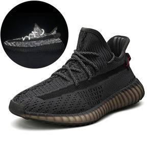 Original Yeezy 350 V2 Putian Brand Logo Sneakers Men And Women Breathable Jogging Shock Absorption Casual Running Tennis Shoes