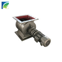 CE ISO Approved YJD Series High Quality Square Inlet Airlock Valve With Sandblast