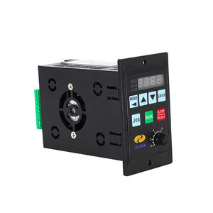panel mount vfd frequency AC 220V 1.5kw vfd single phase variable frequency drive for single phase motor