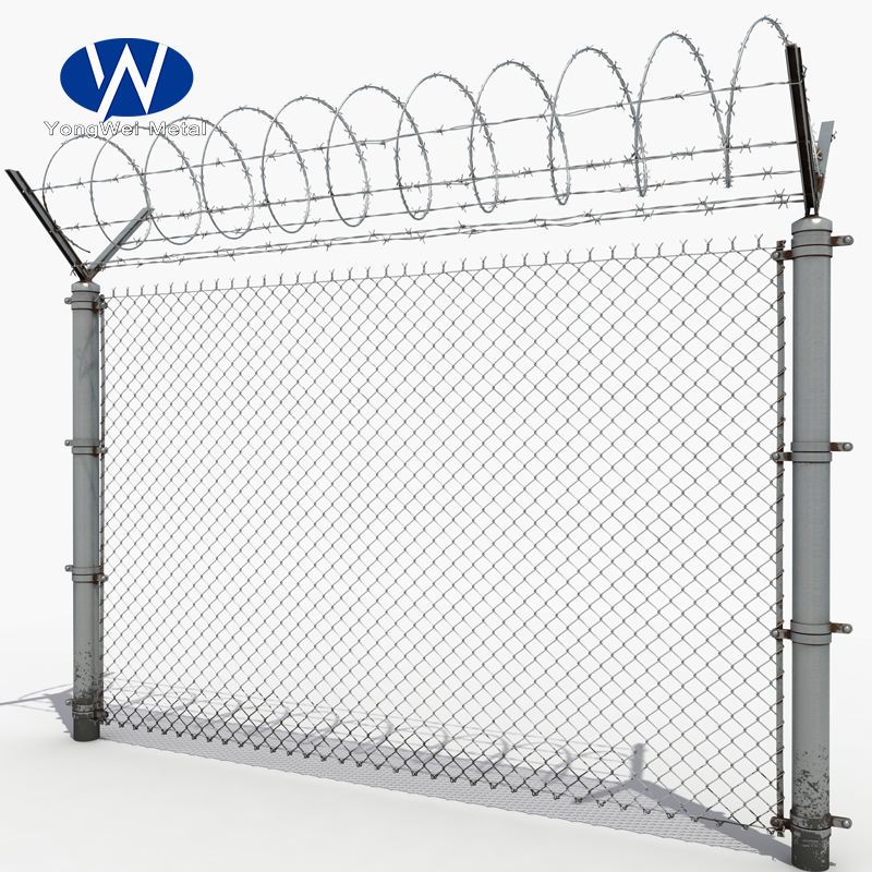 Chain link fence mesh netting for playground/agriculture farm field