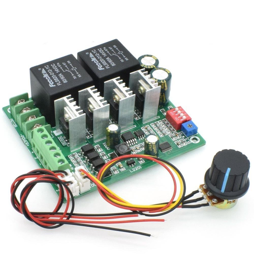 Taidacent 12V 24V 36V 48V Speed Control of DC Motor by Using PWM Electronic Engine Governor Speed Governor Speed Limit