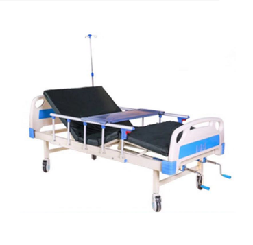 Hospital furniture DP-A209 ABS Two crank electric hospital bed for sale