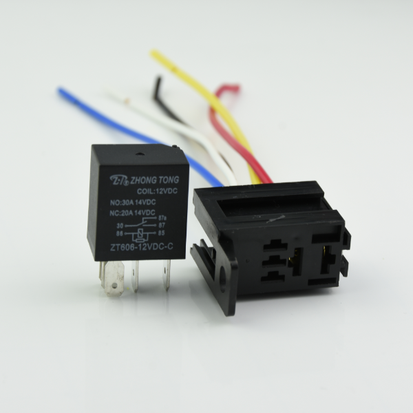 ZT606 flasher relay 6v 4 pin auto espejo de relé