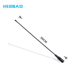 High Gain Long Range UHF VHF Dual-Band external antenna for walkie talkie