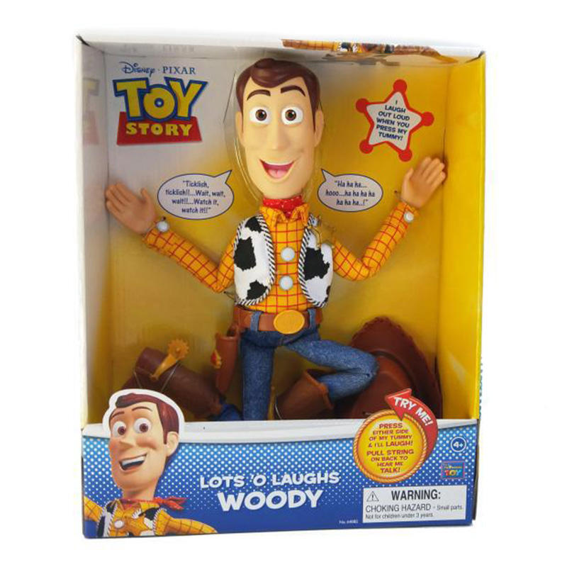 Toy Story 20th anniversary cowboy woody police chief jessie action figure pull line talk interaction Basse light year doll