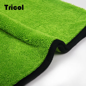 Microfiber Twist Fabric Absorbent Microfiber Cleaning Cloth