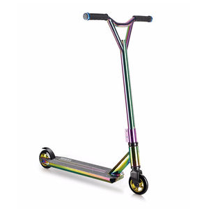 High Quality Freestyle 360 BMX Rainbow Pro Stunt Scooter with T Bar