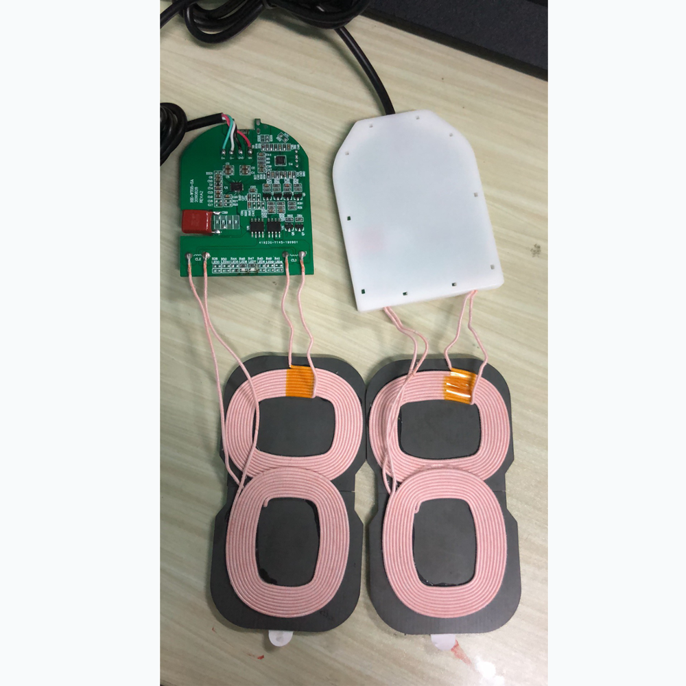 10W Wireless Charger Module 2 Coils PCBA