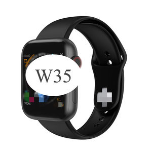 W35 Smart Watch Update Versi Baru W34 Tergantikan Band Bt Panggilan Heart Rate Tekanan Darah Monitor Tahan Air W35