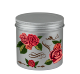 Low MOQ Metal Tin Jars Empty Aluminum Jars Round Christmas Candle Box Cosmetic Tin Containers Aluminum Cans