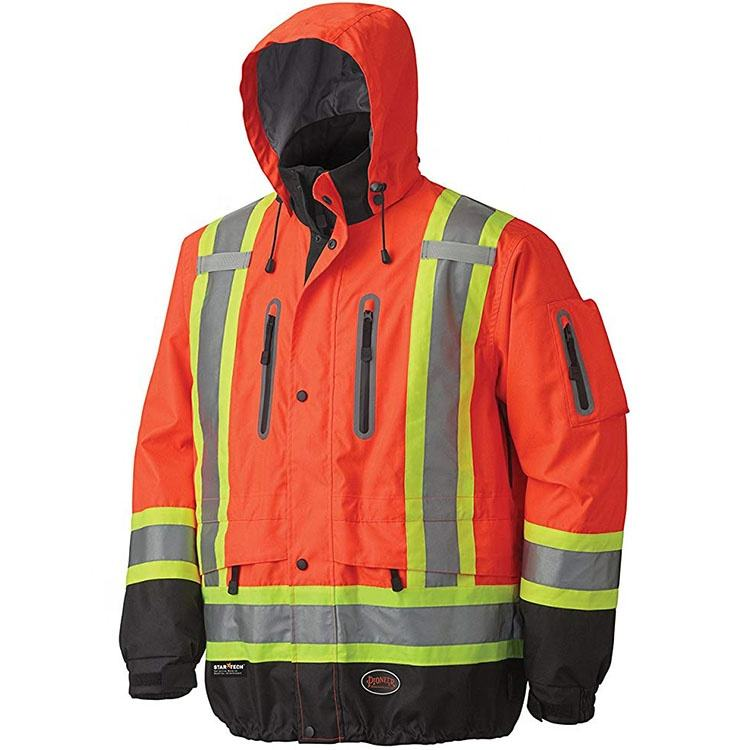 Customization Reflective Waterproof Flame Resistant Workwear
